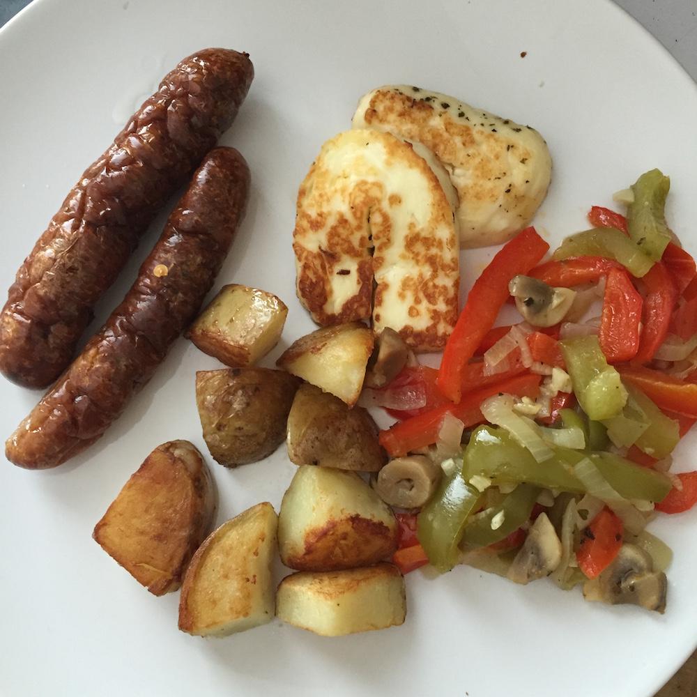 halloumi breakfast