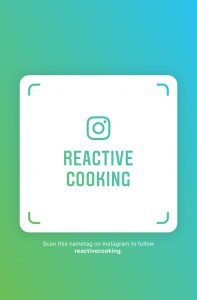 reactivecooking on Instagram