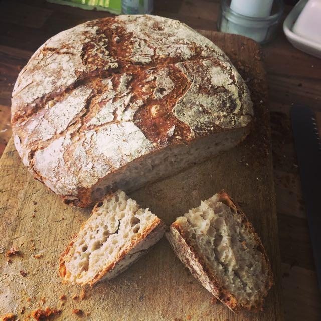 sourdough loaf from Brenda the starter